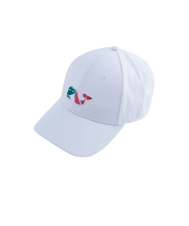Kentucky Derby Roses Whale Fill Baseball Hat