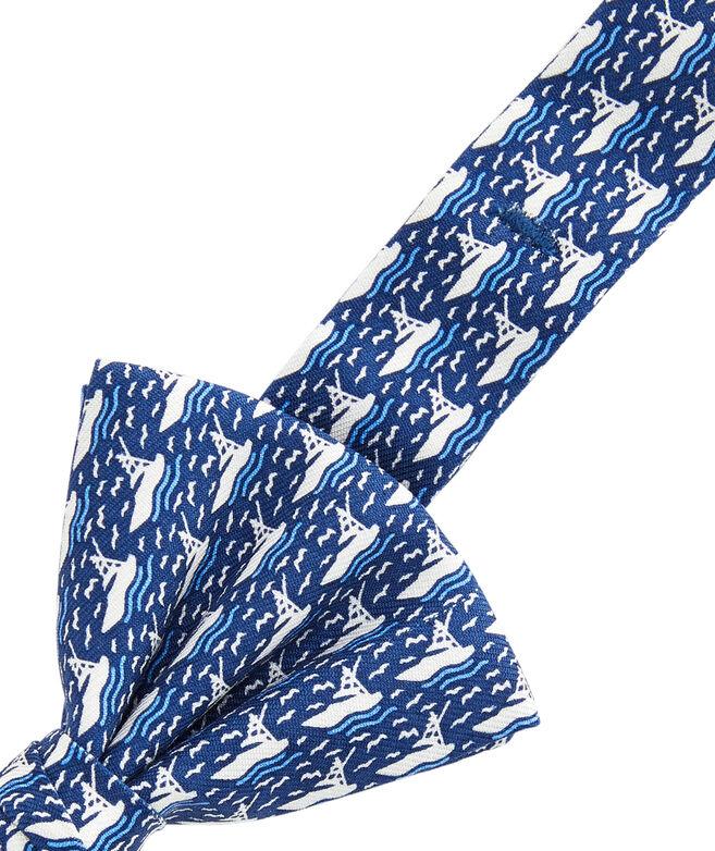 Boys Sportfisher Cruise Bow Tie
