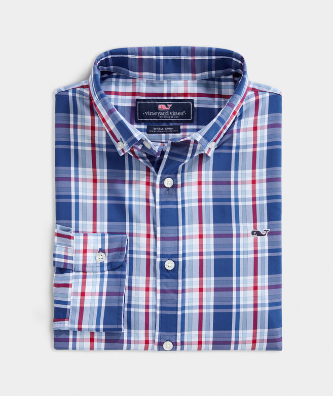 OUTLET Men's Boatyard Performance Classic Whale Shirt