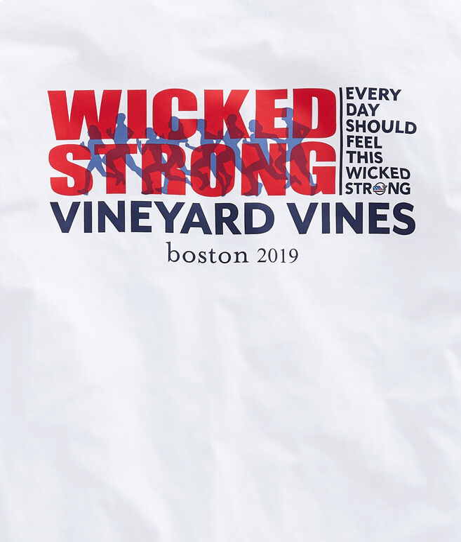 Adult Long-Sleeve Boston Marathon Knockout T-Shirt