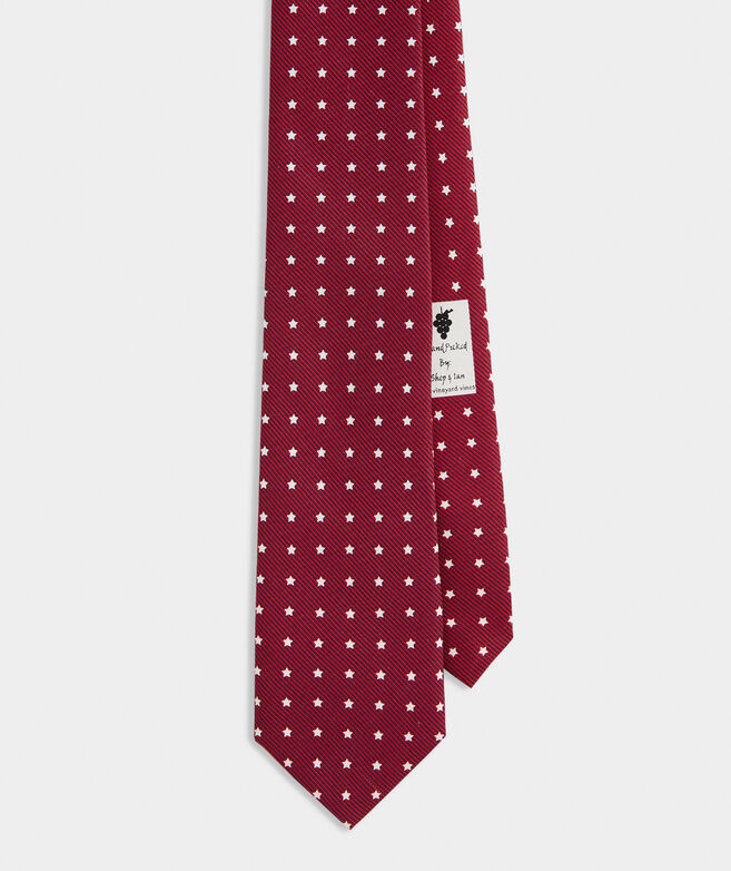 Stars & Stripes Printed Tie