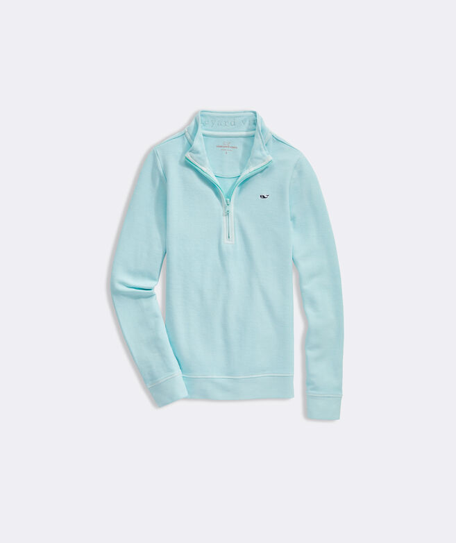 Boys' Garment-Dyed Saltwater 1/2-Zip Pullover