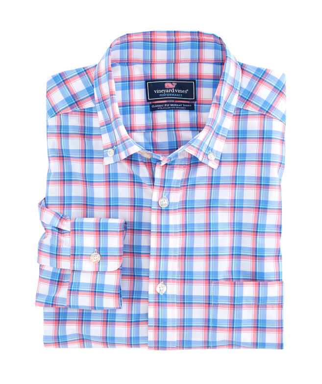 East Point Plaid Performance Classic Murray Shirt