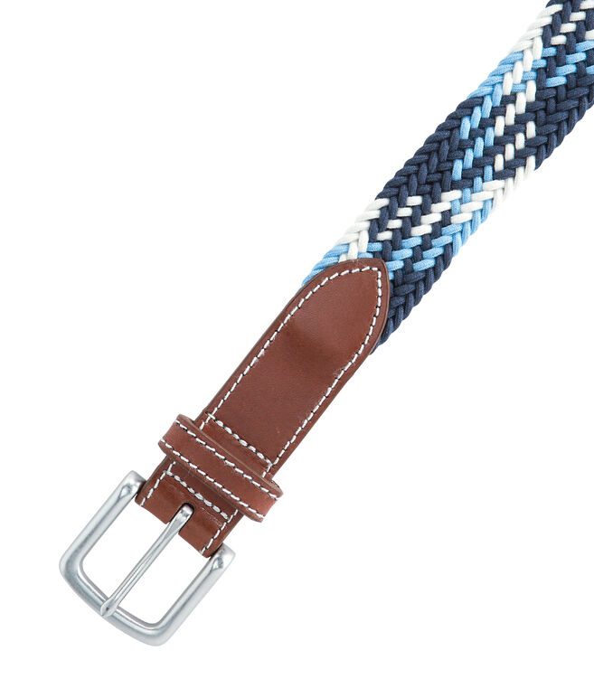 Plaid Bungee Belt