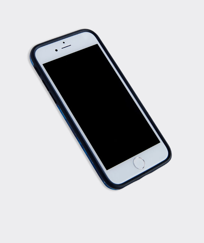 Camo Whale Dot 7/8 Iphone Case
