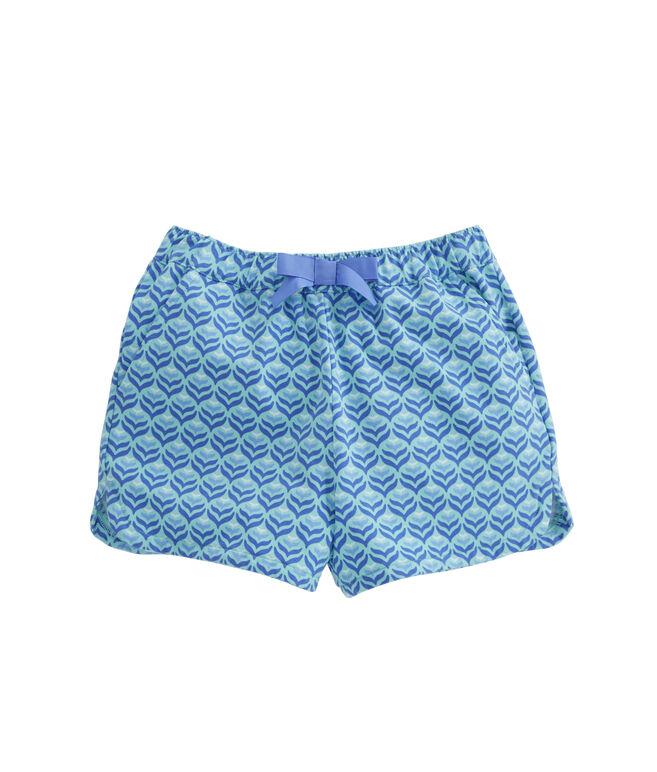 Girls Diamond Whaletail Pull-On Shorts