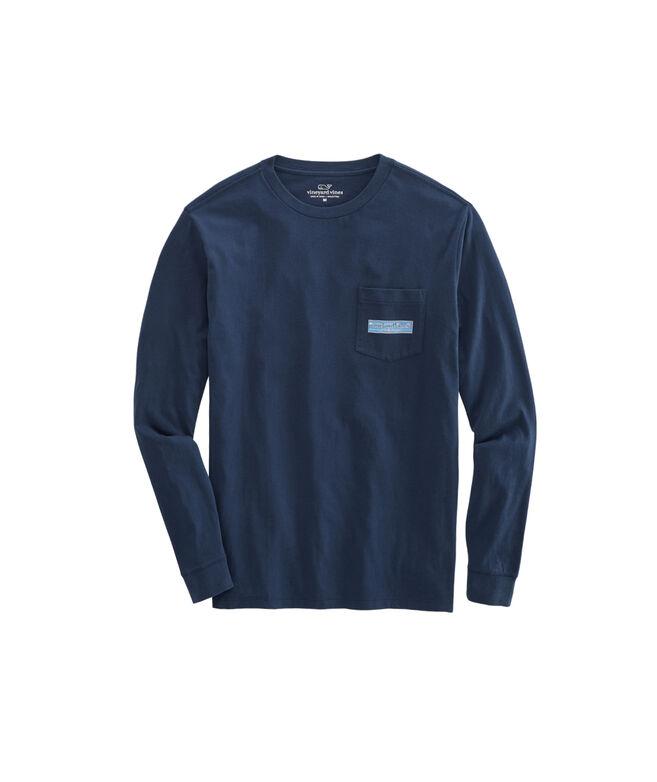 Paddle Box Fill Long-Sleeve Pocket T-Shirt