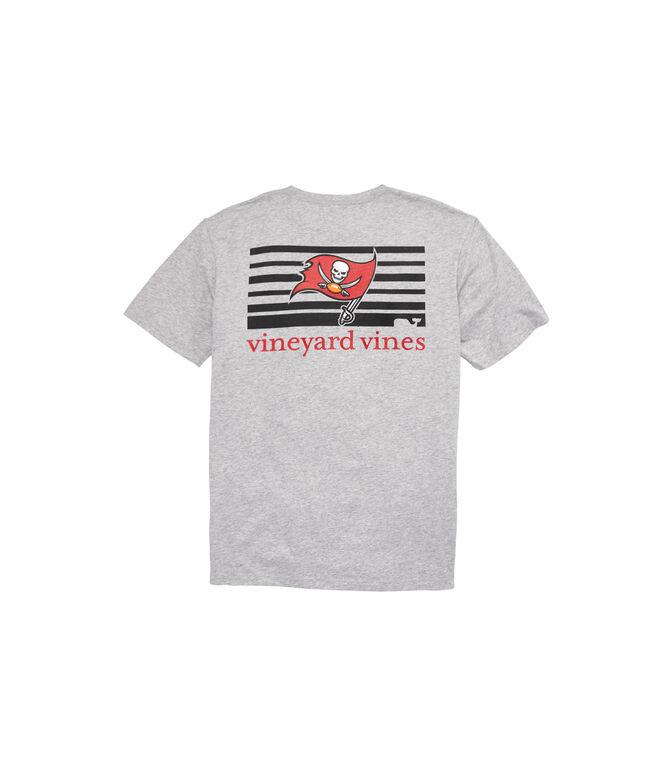 Tampa Bay Buccaneers Block Stripe Tee