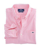 Grande Key Gingham Slim Tucker Shirt