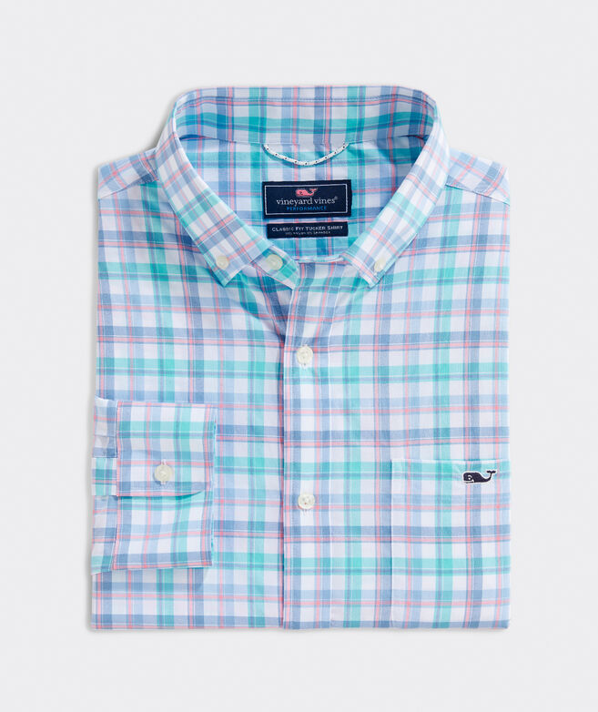 Classic Midreef On-The-Go Performance Tucker Button-Down Shirt