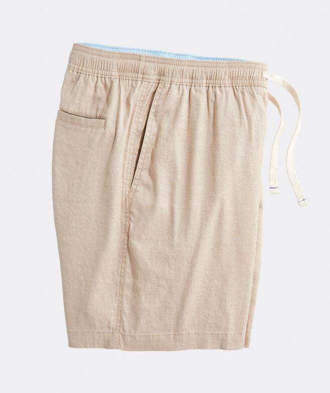 7 Inch Linen Jetty Shorts