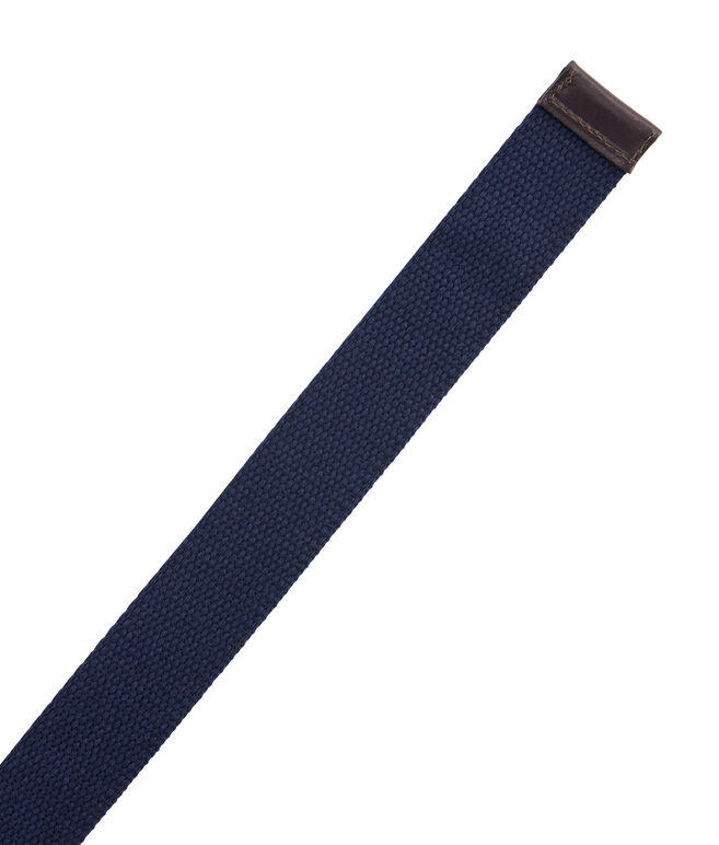 Solid Canvas D-Ring Belt