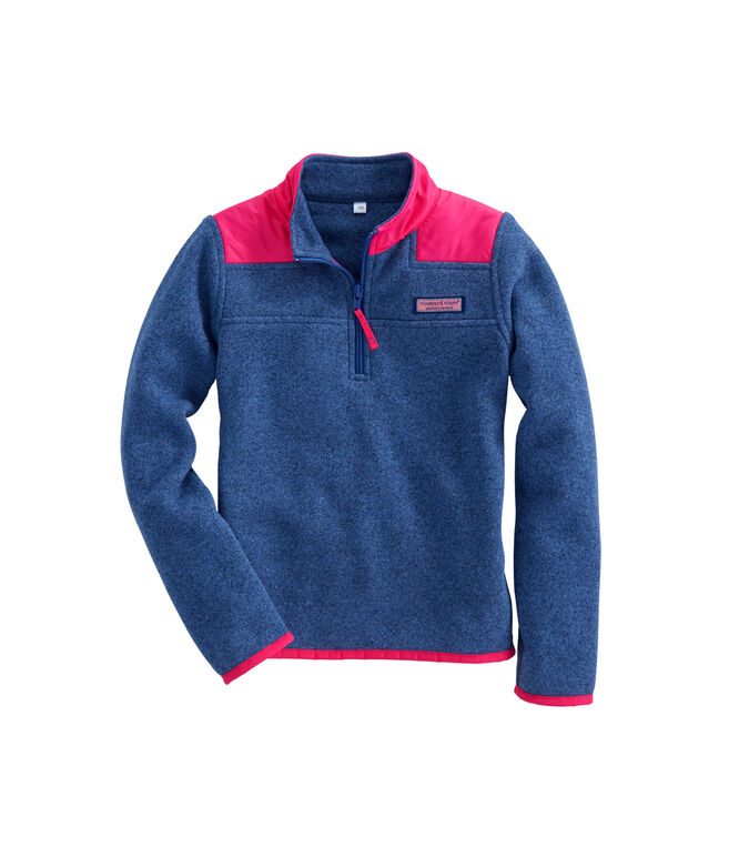 Girls Sweater Fleece Shep Shirt