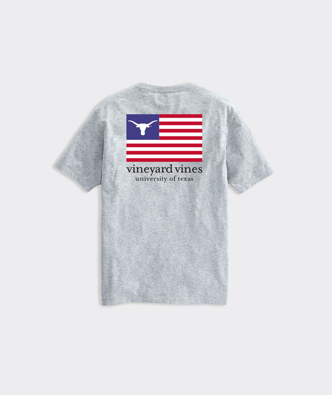 Adult University of Texas USA Flag Short-Sleeve Tee