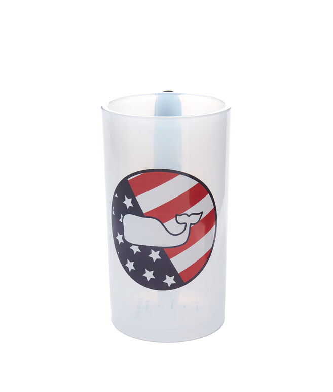 USA Flag Whale Dot Cleat Cup