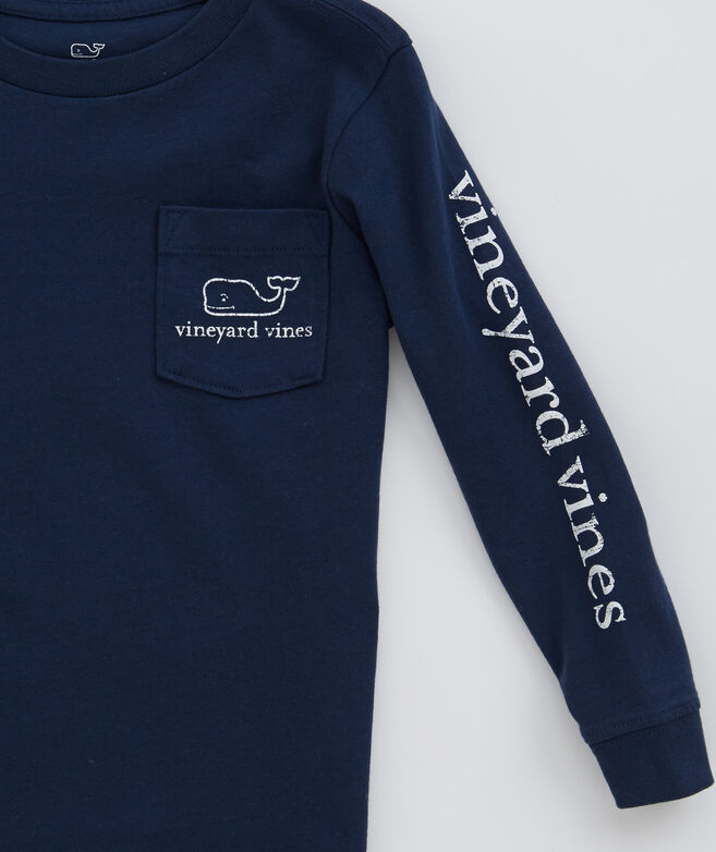 Shop Boys Long Sleeve Vintage Whale Graphic T Shirt At