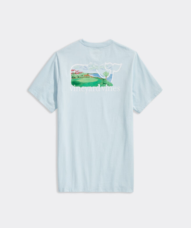 Paradise Golf Whale Short-Sleeve Pocket Tee