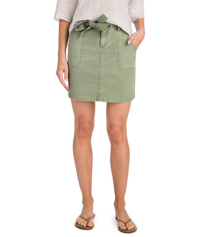 Utility Tie Waist Skirt