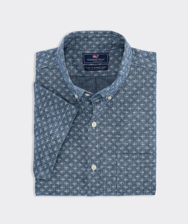 Big & Tall Classic Fit Finn Short-Sleeve Murray Shirt