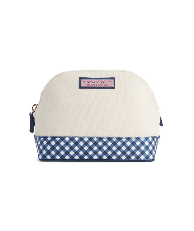 Heritage Gingham Cosmetic Case