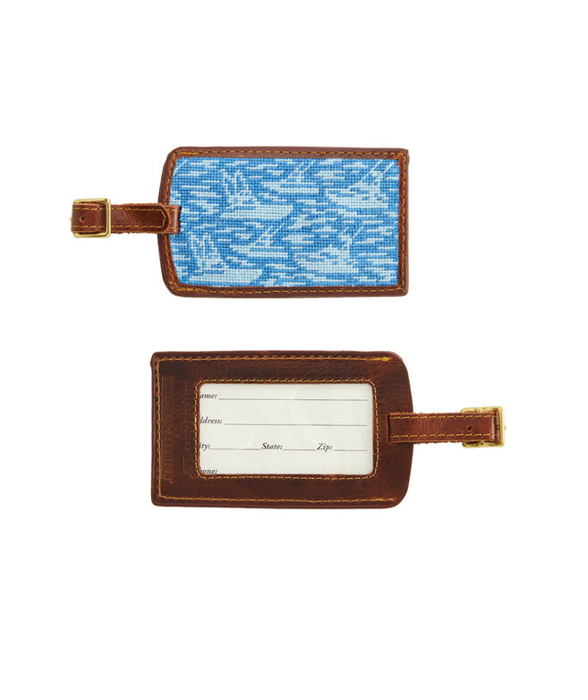 vineyard vines x Smathers & Branson Sportfisher Luggage Tag