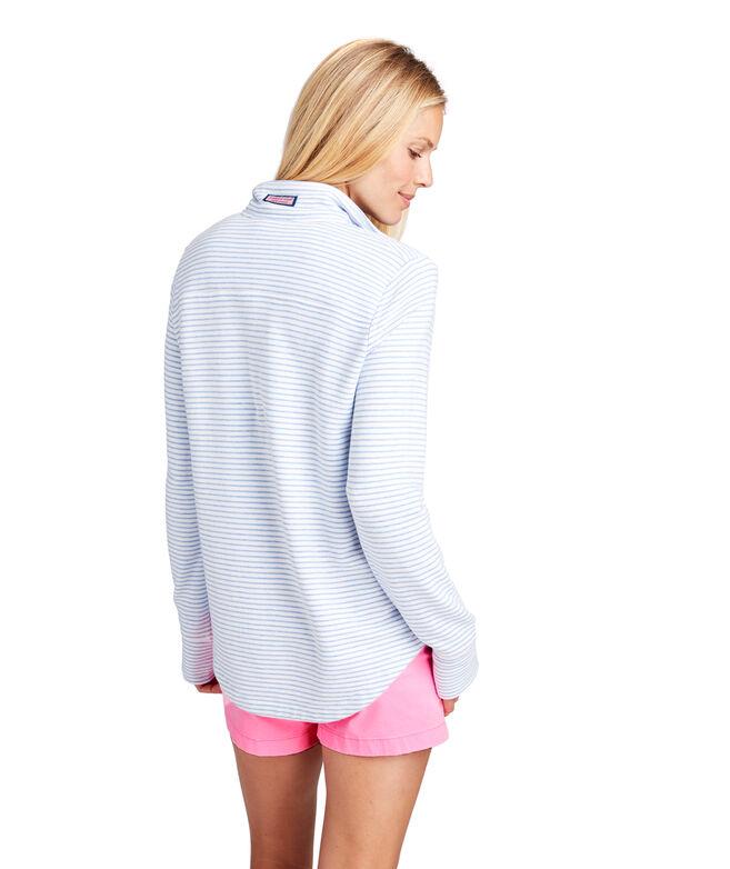 Mixed Stripe Relaxed Shep Shirt
