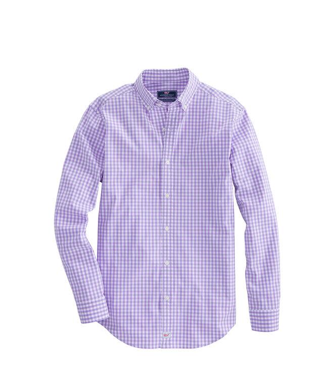 Mens Carleton Gingham Classic Stretch Murray Shirt