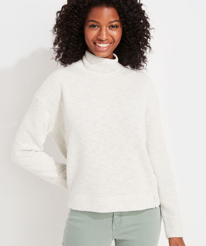 Textured Knit Pullover