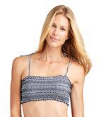 Sankaty Stripe Smocked Bikini Top
