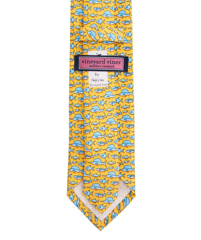 Total Fisherman Printed Tie