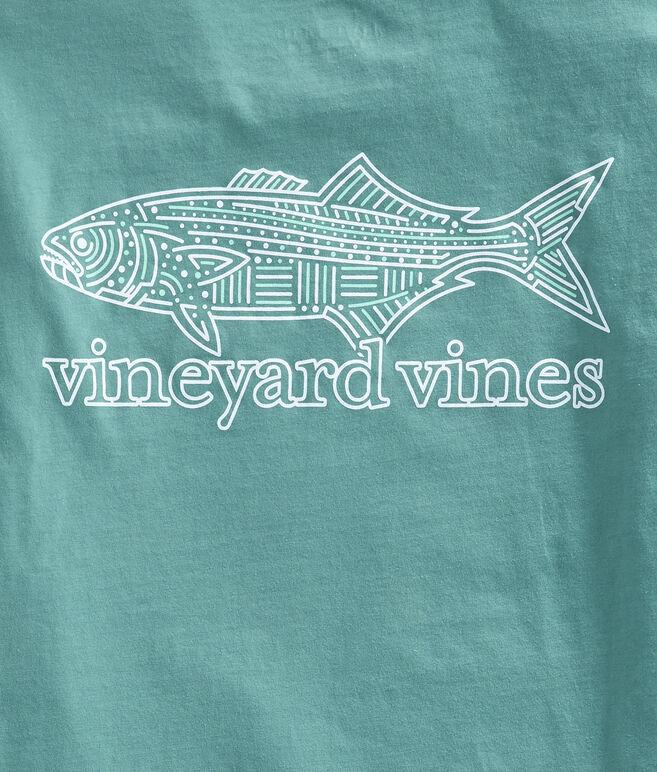 Linear Bluefish Pocket T-Shirt