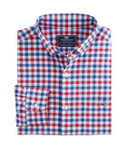 Gull Island Gingham Classic Performance Tucker Shirt