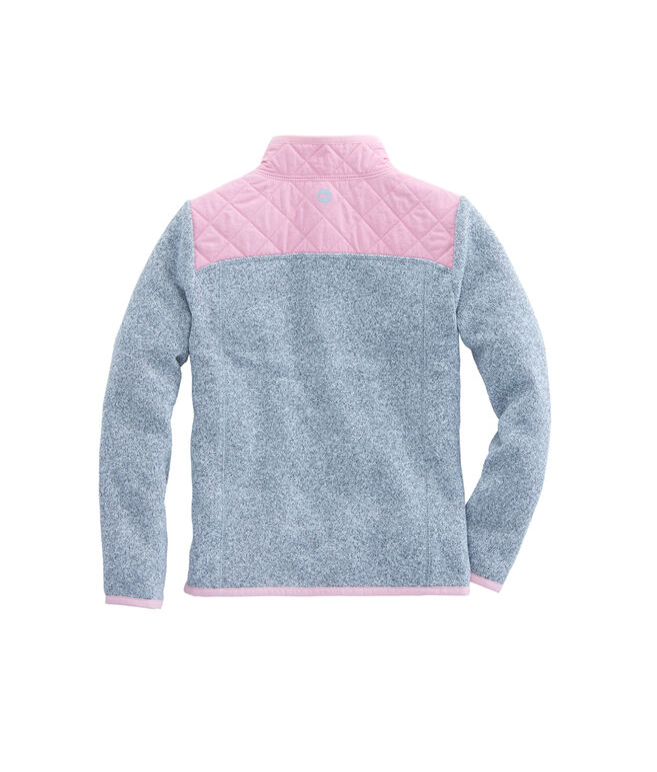 Girls Sweater Fleece Full Zip