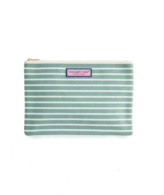 Simple Stripe 3-Pack Cosmetic Set