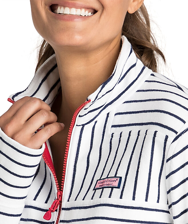 USA Mixed Stripe Relaxed Shep Shirt