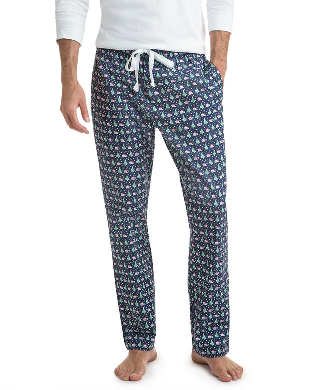 Santa Whale & Tree Lounge Pants