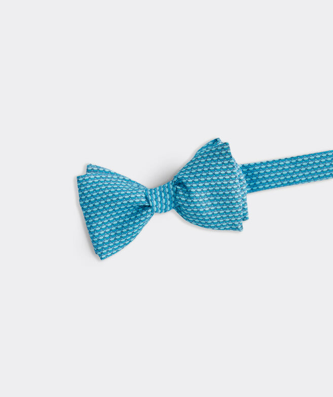 Hockey Puck Geo Bow Tie