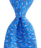Mens Shark Week Circling Sharks Tie