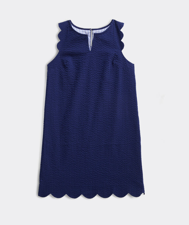 Girls' Scallop Vineyard Shift Dress