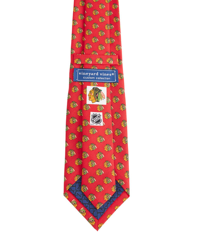Chicago Blackhawks Logo Boys Tie
