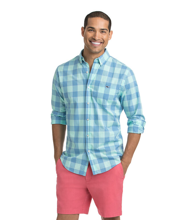 Hideaway Check Slim Tucker Shirt