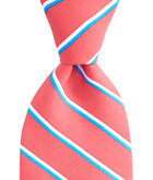 Boys Collegiate Stripe Printed Tie