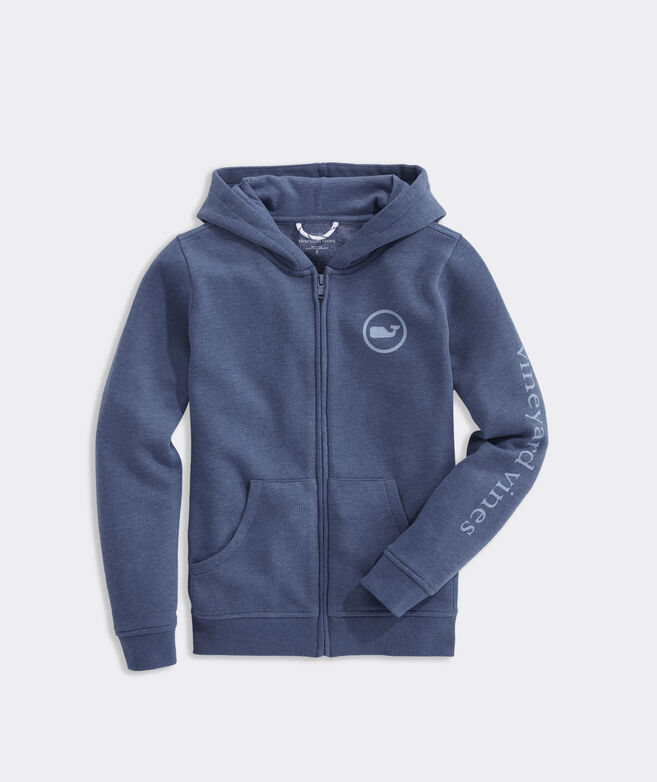 Boys' Full-Zip Graphic Hoodie