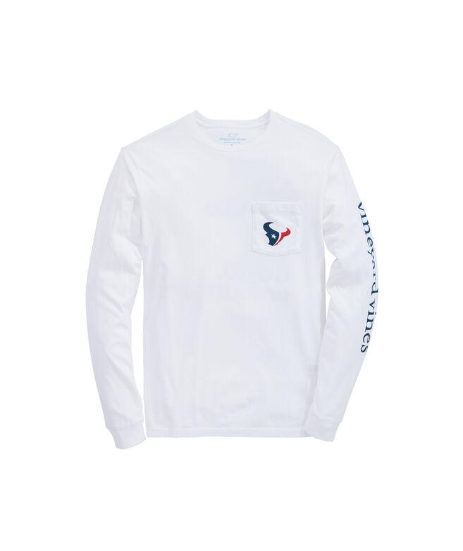 Houston Texans Long-Sleeve EDSFTG T-Shirt