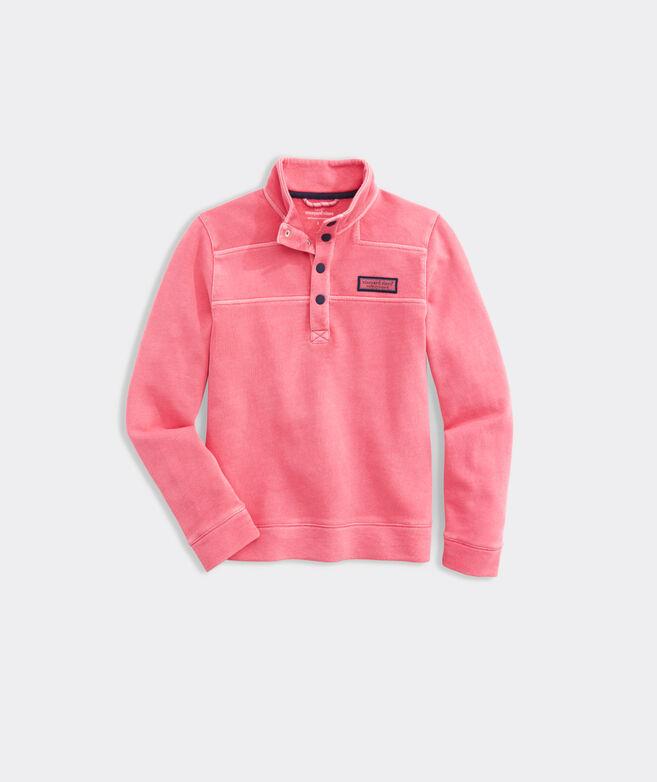 Kids' Garment-Dyed Snap Placket Shep Shirt