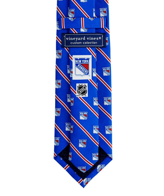 New York Rangers Rep Stripe Tie