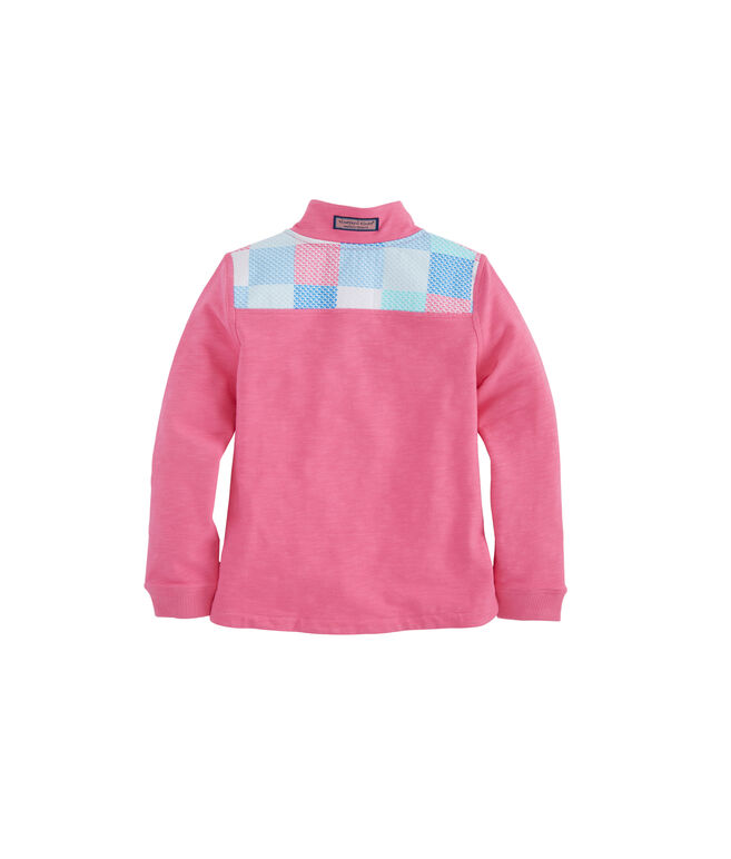 Girls Patchwork Print Relaxed Shep Shirt