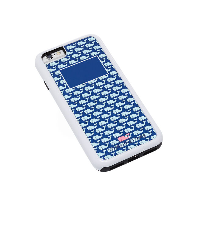 Monogrammed Vineyard Whale iPhone 6 Plus Case