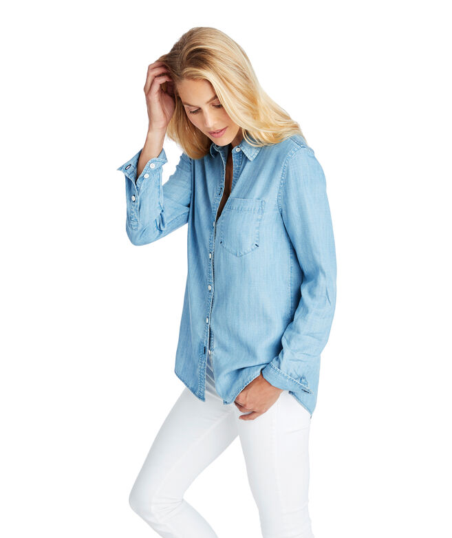 Chambray Chilmark Relaxed Button Down