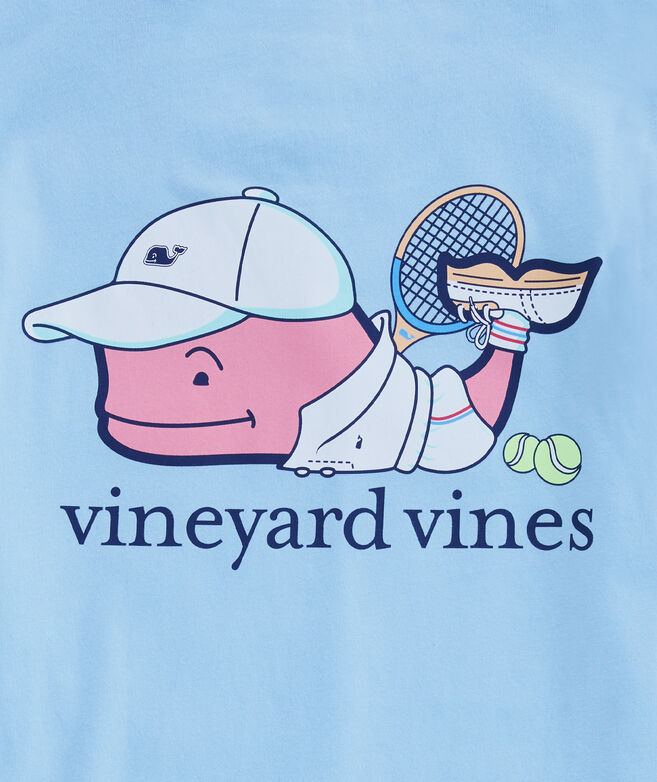 Boys Tennis Pro Whale Pocket T-Shirt